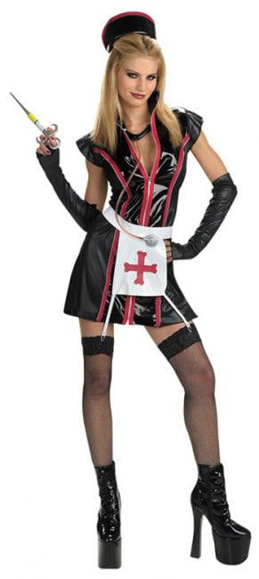 Gothic Krankenschwester Kostüm Gr SM 36-38