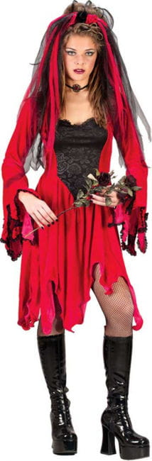 Velvet Devil Bride Kostüm Gr.S/M