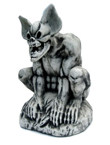 Gargoyle auf Stein 70cm groß