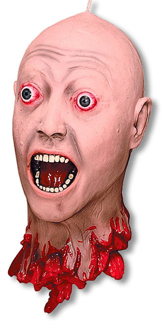 Cut Off Head with Realistic Eyes