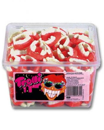 Mini Dracula Teeth of foam sugar 150 St.