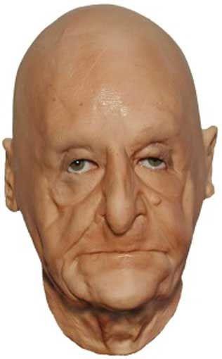 Urgroßmutter Foamlatex Maske