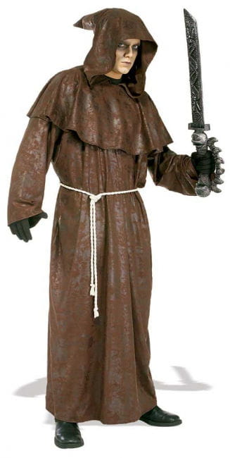 Crusader Monk Costume