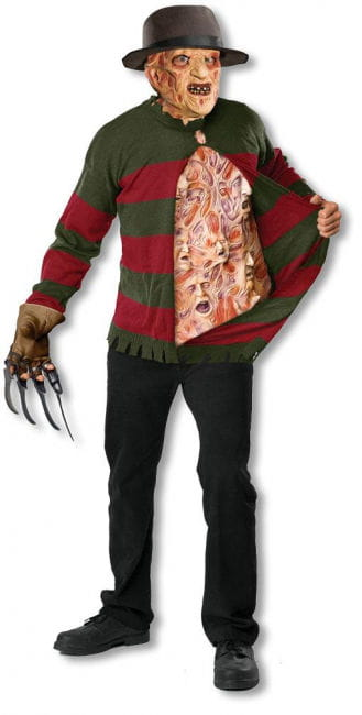 Freddy Krueger knitting sweaters