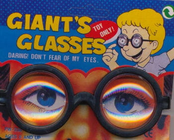 Joke glasses Professor