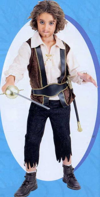 Pirate Child Costume 7 to 8 years