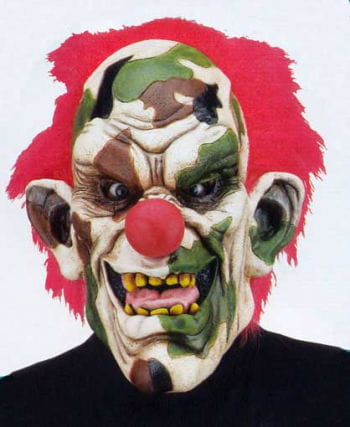 Army Clown Mask