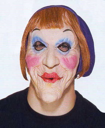 Old granny mask Merkel