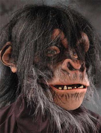 Schimpansen Maske Deluxe