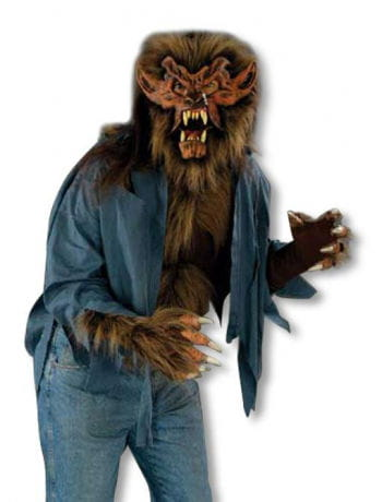 Werewolf Shirt Brown