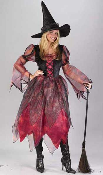 Autumn Witch Deluxe Costume ML