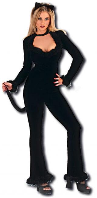 Sexy Cat Kostüm Gr. 38-42 M/L