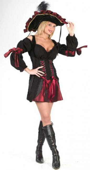 Sexy pirates Bride Costume S / M