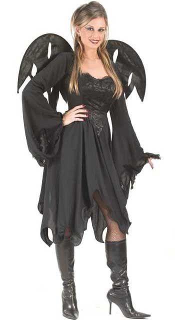 Black Angel of Death Costume M/L