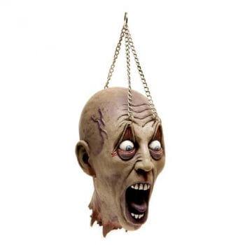 Abgetrennter Kopf mit Folteraugen
