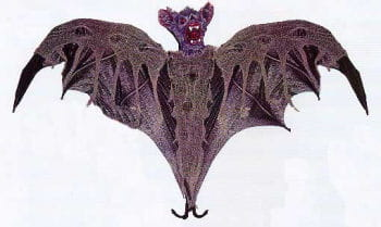 Giant Bloody Bat 300cm Wingspan