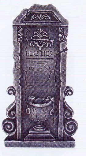 Grabstein Motiv Urne