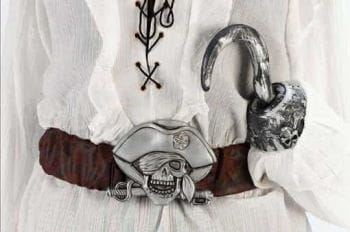 Pirate Belt and Hook Hand