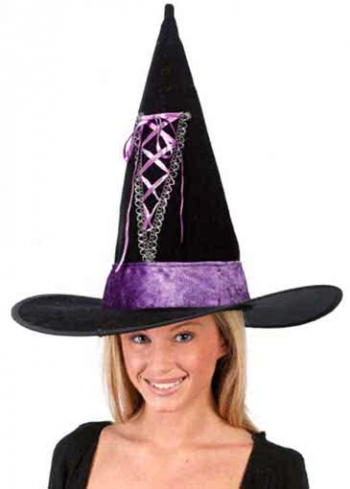 Laced Witch Hat