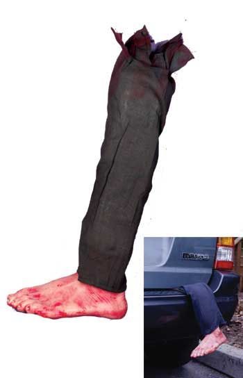 Bloody Foot with Trouser Leg