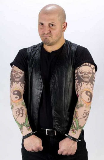 Tattoo Sleeves Men Evil Ninja