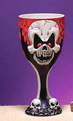 Horror Goblet Bloody Skull