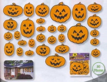 Pumpkin Decoration Set 30teilig