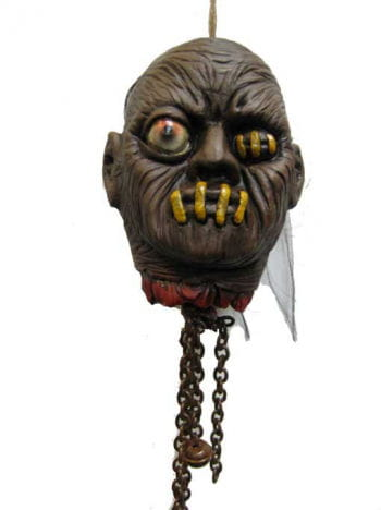 Shaking Shrunken Head One Eyed, Animatronic