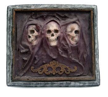 Velvet Skull Wandbild