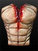 Bloody muscular torso