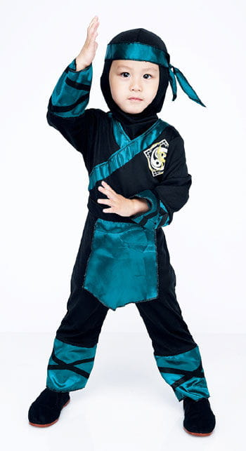 Forest Ninja Child Costume 2 to 3 Years