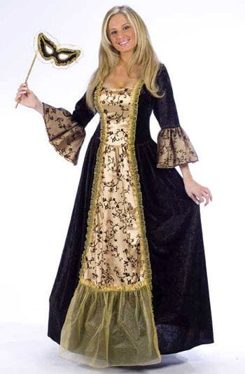 Queen of Masquerade Costume S/M
