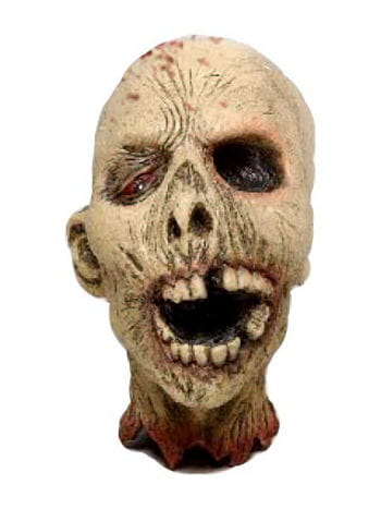Pus zombie head