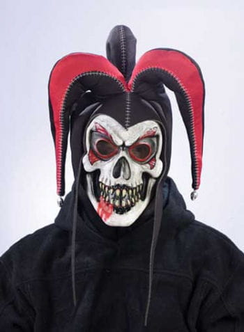 Jester Clown Mask red
