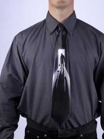 Horror Krawatte Axtmörder