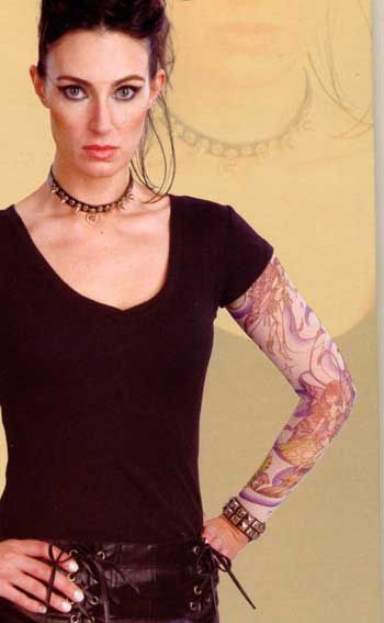 Tattoo Sleeves Girl Fairy Charm