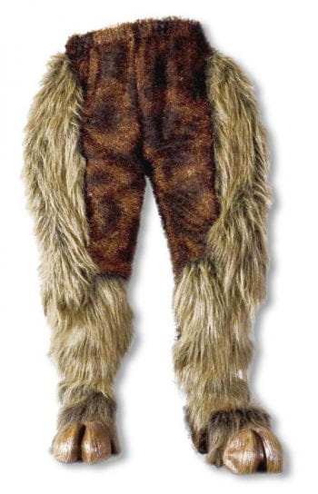 Monster Fur Pants Brown