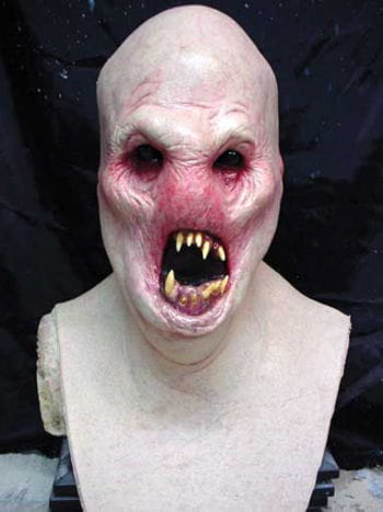 Maggot Head Mask