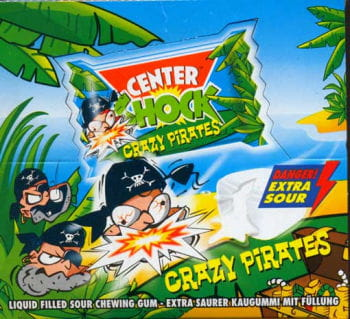 Shock Pirats Chewing Gum