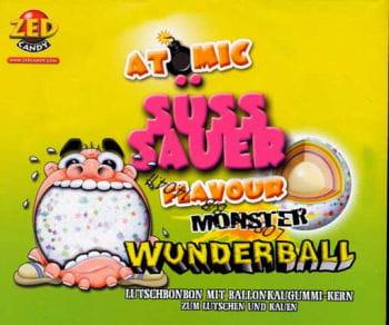 Monster Wunderball Lutschbonbon