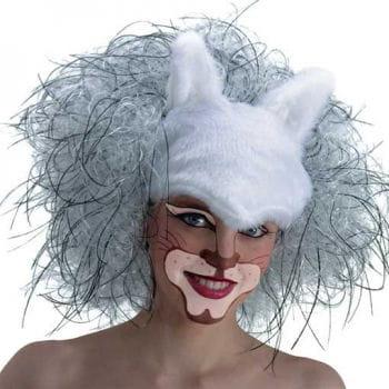 Cat Wig White
