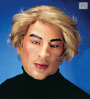 Playboy Larry Mask with Hair