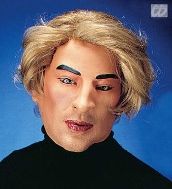 Playboy Larry Maske mit Haaren