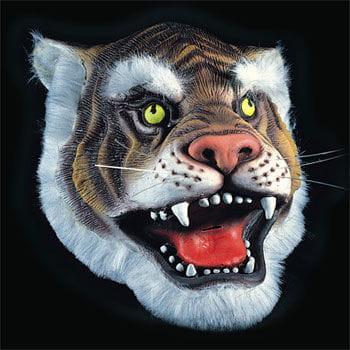 Tiger Latex Mask