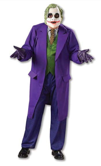 Joker Dark Knight Costume. XL 54-56