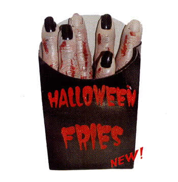 Halloween French  Fries