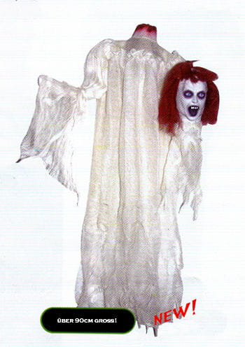 Geköpfte Braut Hängefigur 90cm