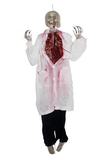 Halloween Hanging Prop Dr. Gore 90cm