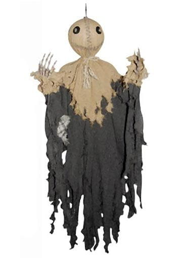 Halloween Hanging Prop Scary Scarecrow 90cm