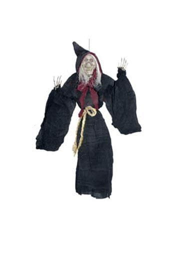 Scary Witch Hanging Prop 45cm